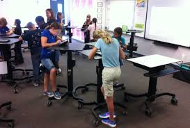 standing desks for students a fourth grader s take on standing desks when you re sitting down