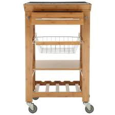 kitchen islands carts home decorators collection 22 sq in bamboo kitchen island cart