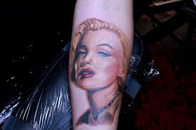 marilyn monroe tattoo by linolucero1 on deviantart