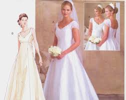 wedding dress sewing patterns wedding gown pattern etsy