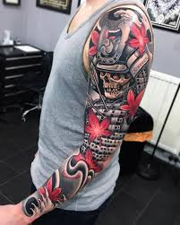 cool tattoo sleeves for girls fallen samurai u003c u003csleeve tattoos u003e u003e pinterest samurai tattoo