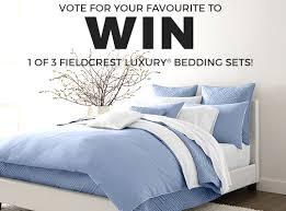 Fieldcrest Luxury Bedding Win Fieldcrest Luxury Bedding Sets From Sears Canada