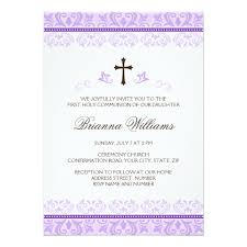 communion invitations for girl girl communion invitations announcements zazzle