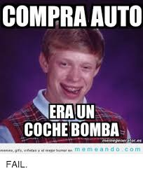 Auto Meme Generator - compra auto eraun coche bomba memegenerator es memes gifs vinetas y