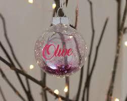 Cheap Personalised Christmas Decorations Personalised Christmas Bauble Etsy