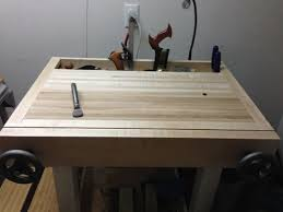 Woodworking Bench Vise Installation by Weekend Warrior Woodworking Magazine 19 Joinery Bench