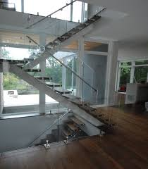 stair case floating stairs in riverwoods il kashian bros carpet and flooring