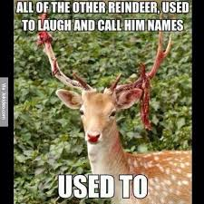 All Memes With Names - all of the reindeer used to laugh and call him names funny meme picture