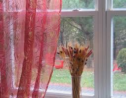 circle embroidered organza sheer curtains u0026amp amp panels
