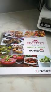 livre cuisine kenwood nouvel arrivant dans la cuisine le kcook de kenwood top et