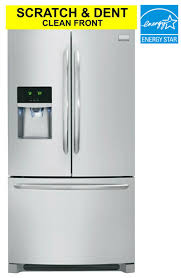 Counter Depth Stainless Steel Refrigerator French Door - frigidaire gallery scratch and dent clean front counter depth