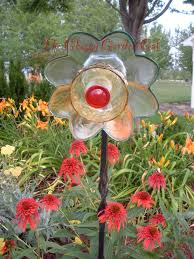 47 best glass garden art flowers images on pinterest glass