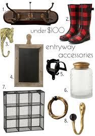 under 100 entryway accessories u2013 design sponge