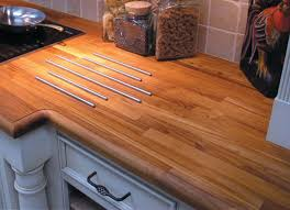 blue kitchen cabinets with wood countertops 12 wow worthy woods for kitchen countertops bob vila