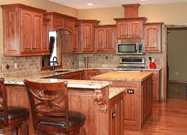 Knotty Alder Cabinet Stain Colors by The Cabinets Plus Knotty Alder Kitchen Cabinets