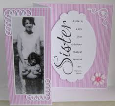 little sister birthday card with ballerina twinkle toes hand