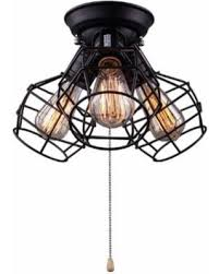 pull ceiling lights great deals on lnc wire cage ceiling lights 3 light pull string