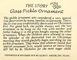 best 25 pickle ornament ideas on the pickle merry german