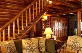 decor contemporary log cabin interior design photos excellent
