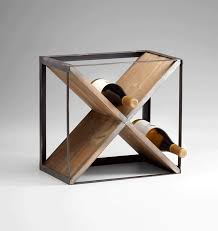 cube wine holder by cyan lojopa interiors