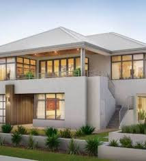 Two Story House Plans With Balconies Double Storey House Plans Balcony Home Home Building 2 Story Home