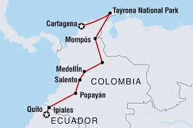Colombia On World Map by Colombia Tours U0026 Travel Intrepid Travel Us