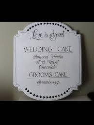 custom signs vintage wedding signs wedding decor rustic