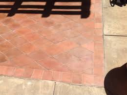 Patio Pavers Las Vegas by Mexican Terracotta Paver Exterior Patio Restored