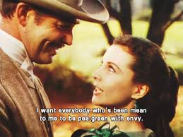 Gone With The Wind Meme - senior year of college as told by scarlett o hara