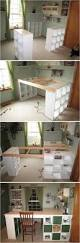 Craft Desk With Storage Craft Room Desk Diy Easy Project Video Instructions