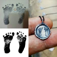 footprint necklace personalized baby footprint necklace personalized child footprint
