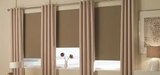 Curtain With Blinds Noise Reducing Window Treatments