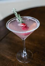 martini cherry drink of the week mistletoe martini from davio u0027s boston