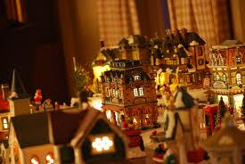 Christmas Village Sets File Decorative Christmas Village 2 Jpg Wikimedia Commons
