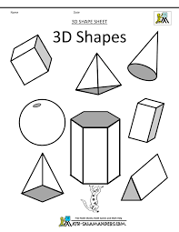 how to draw 3d simple geometric shapes drawing and coloring for