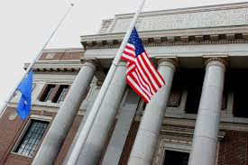 Should Flags Be At Half Mast Lowered For Shooting Victims