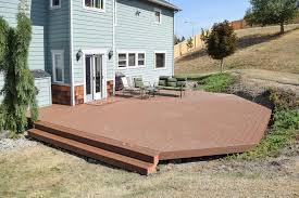 lacey trex decking installation ajb landscaping u0026 fence
