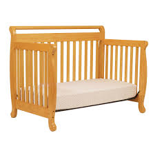 Annabelle Mini Crib White by Davinci Emily 4 In 1 Convertible Crib In Honey Oak 179 00
