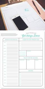 25 unique daily planner printable ideas on pinterest daily