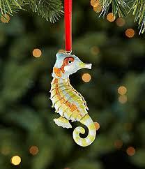 dillards trimmings cloisonne seahorse ornament dillards