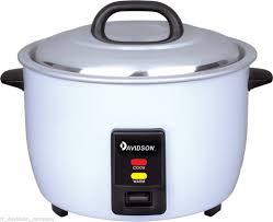 restaurant kitchen appliances davidson commercial rice cooker 20 cups 3 6l non stick pot keep