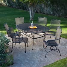 Outdoor Patio Furniture Lowes by Impressive Pendant About Remodel Wrought Iron Patio Furniture