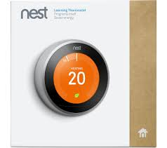 black friday nest thermostat buy nest learning thermostat 3rd generation silver free