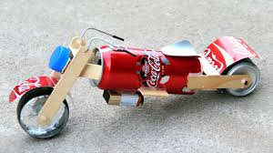 how to make a toy motorcycle amazing coca cola motorcycle diy