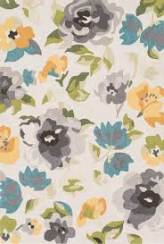 Camo Rugs For Sale Grey And Yellow Floral Francesca Rug By Loloi Rugs