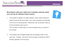 make up classes in boston adjusting to college balancing class selection with time