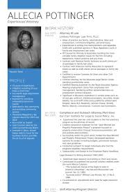 Litigation Attorney Resume Sample by Attorney Resume Samples Visualcv Resume Samples Database