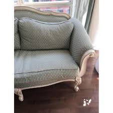 french chaise lounge sofa ethan allen evette french settee sofa aptdeco