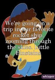 trip favorite rocket ship zooming