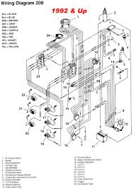 mercury boat motors wiring diagram all boats